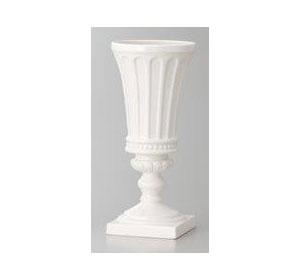 Cal G Style Vase Wht