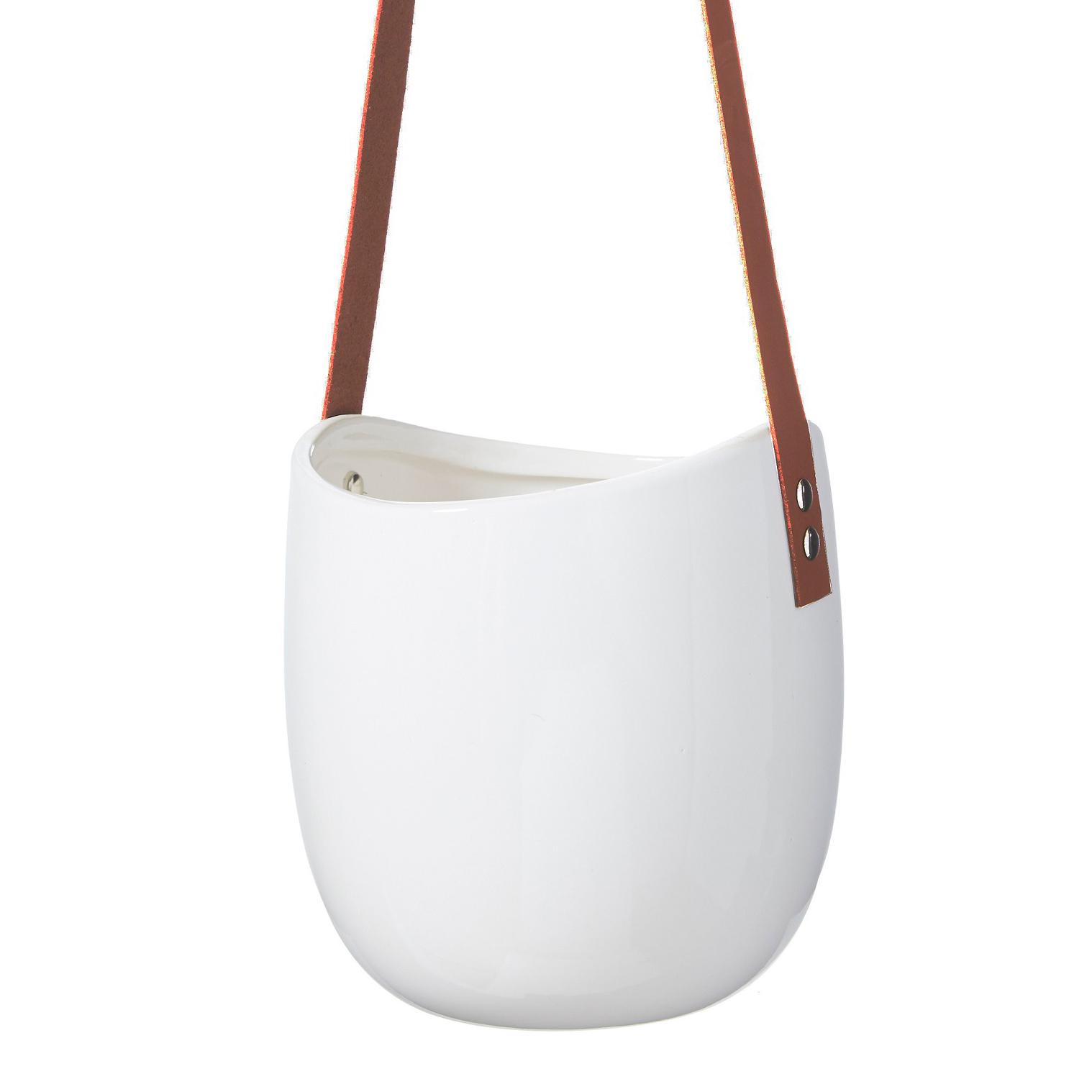 Whidel Hanging Pot White